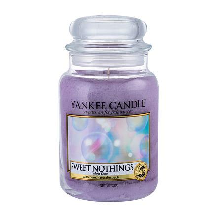 Yankee Candle Sweet Nothings vonná svíčka 623 g