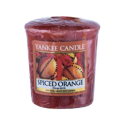 Yankee Candle Spiced Orange vonná svíčka 49 g