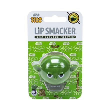 Lip Smacker Star Wars Yoda balzám na rty 7,4 g odstín Jedi Master Mint