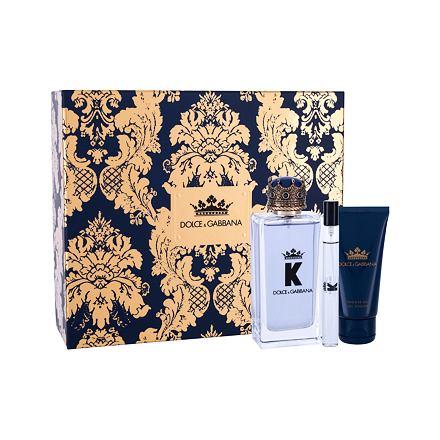 Dolce&Gabbana K 100 ml sada toaletní voda 100 ml + sprchový gel 50 ml + toaletní voda 10 ml pro muže