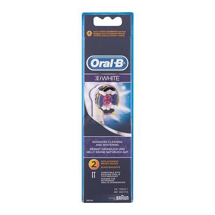 Oral-B 3D White náhradní hlavice na elektrický zubní kartáček 2 ks
