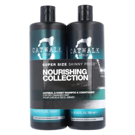 Tigi Catwalk Oatmeal & Honey 750 ml sada šampon 750 ml + kondicionér 750 ml pro ženy