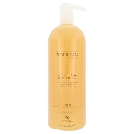 Alterna Bamboo Smooth Anti-Frizz šampon proti krepatění vlasů 1000 ml pro ženy