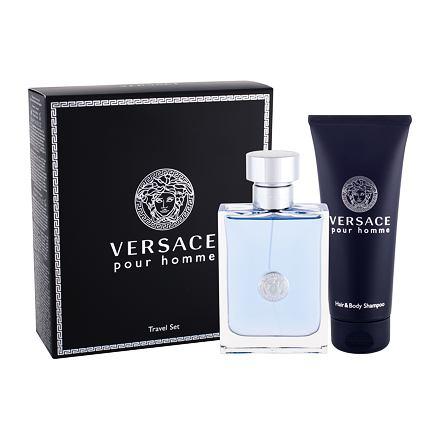 Versace Pour Homme 100 ml sada toaletní voda 100 ml + sprchový gel 100 ml pro muže