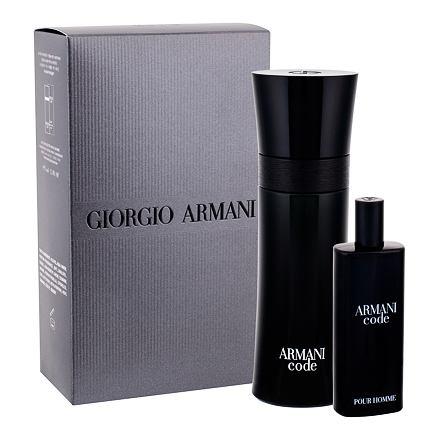 Giorgio Armani Armani Code Pour Homme 75 ml sada toaletní voda 75 ml + toaletní voda 15 ml pro muže
