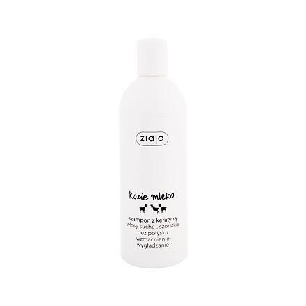 Ziaja Goat´s Milk posilující šampon na vlasy s keratinem 400 ml pro ženy
