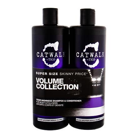 Tigi Catwalk Your Highness 750 ml sada šampon 750 ml + kondicionér 750 ml pro ženy
