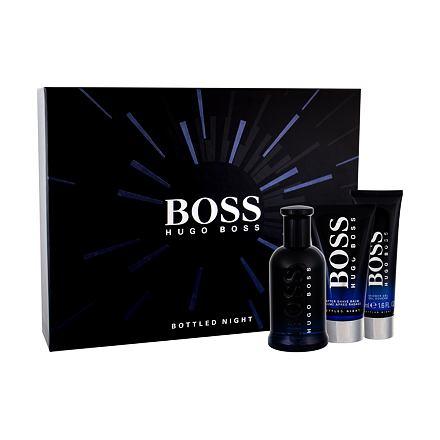 HUGO BOSS Boss Bottled Night 100 ml sada toaletní voda 100 ml + balzám po holení 75 ml + sprchový gel 50 ml pro muže