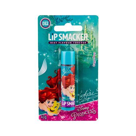 Lip Smacker Disney Princess Ariel balzám na rty s příchutí 4 g odstín Calypso Berry pro děti