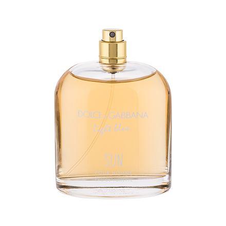Dolce&Gabbana Light Blue Sun Pour Homme toaletní voda 125 ml Tester pro muže