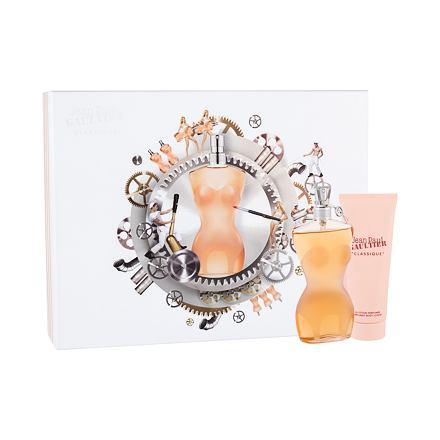 Jean Paul Gaultier Classique 100 ml sada toaletní voda 100 ml + tělové mléko 75 ml pro ženy