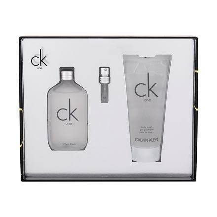 Calvin Klein CK One 50 ml sada toaletní voda 50 ml + sprchový gel 100 ml unisex
