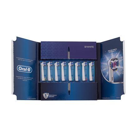 Oral-B 3D White náhradní hlavice na elektrický zubní kartáček 8 ks