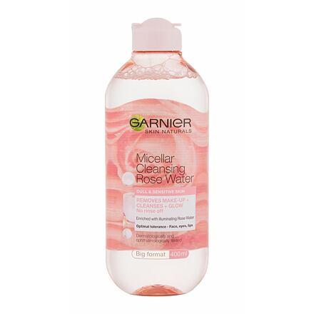 Garnier Skin Naturals Micellar Cleansing Rose Water čisticí a rozjasňující micelární voda 400 ml pro