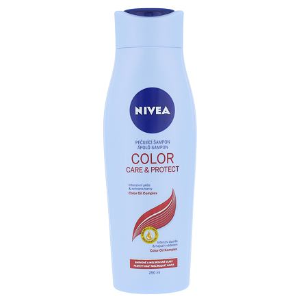 Nivea Color Protect Care šampon pro barvené a melírované vlasy 250 ml pro ženy