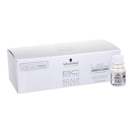 Schwarzkopf BC Bonacure Scalp Genesis Root Activating Serum sérum na jemné vlasy pro aktivaci kořínků 7x10 ml pro ženy