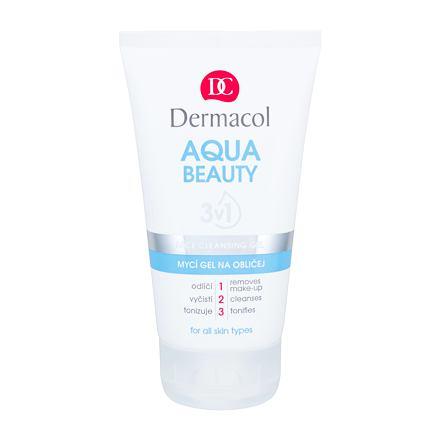 Dermacol Aqua Beauty čisticí gel 3v1 150 ml pro ženy