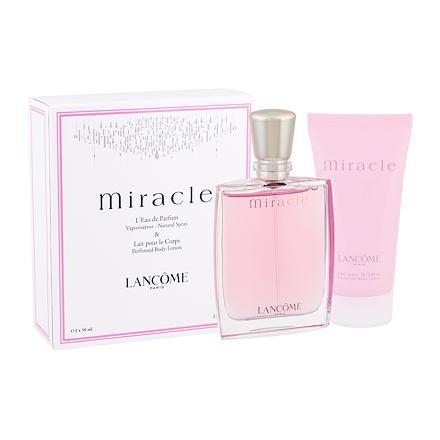 Lancôme Miracle 50 ml sada parfémovaná voda 50 ml + tělové mléko 50 ml pro ženy
