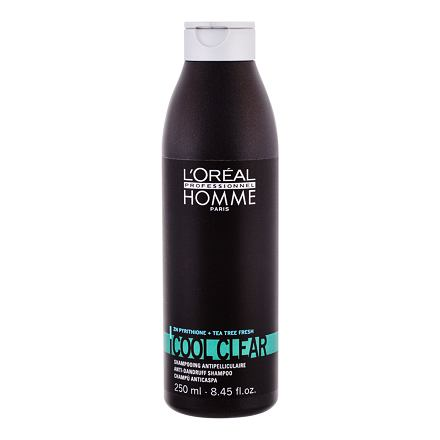 L´Oréal Professionnel Homme Cool Clear šampon proti lupům 250 ml pro muže