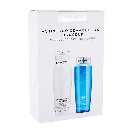 Lancôme Galatéis Douceur 400 ml sada čisticí mléko Galateis Douceur 400 ml + čisticí voda Tonique Douceur 400 ml pro ženy