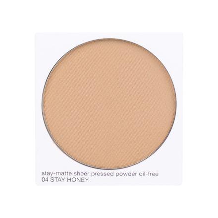Clinique Stay-Matte Sheer Pressed Powder matující kompaktní pudr 7,6 g odstín 04 Stay Honey Tester