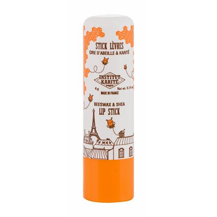 Institut Karite Shea Lip Stick Beeswax hydratační a zvláčňující balzám na rty 4 g