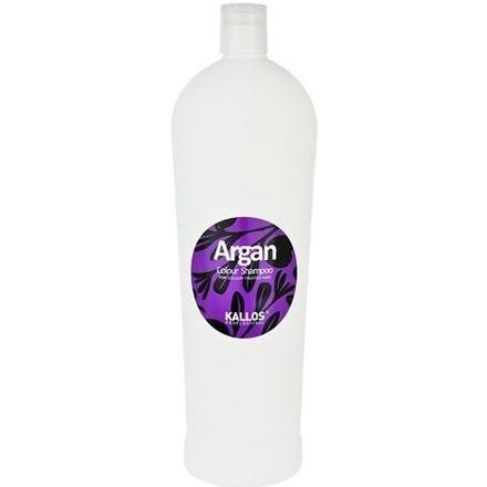 Kallos Cosmetics Argan vyživující šampon pro barvené vlasy 1000 ml pro ženy