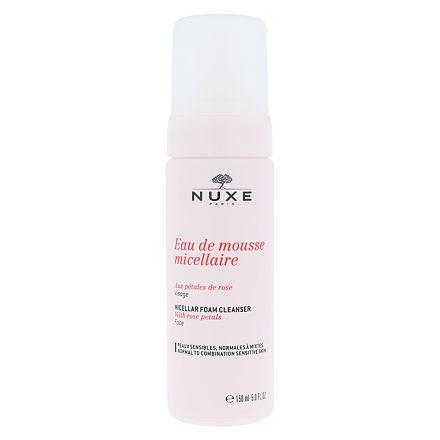 NUXE Rose Petals Cleanser Micellar čisticí micelární pěna 150 ml pro ženy