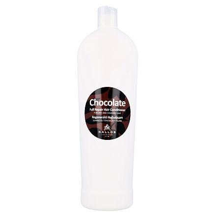 Kallos Cosmetics Chocolate regenerační kondicionér pro suché a poškozené vlasy 1000 ml pro ženy