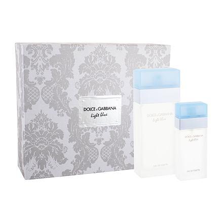 Dolce&Gabbana Light Blue 100 ml sada toaletní voda 100 ml + toaletní voda 25 ml pro ženy