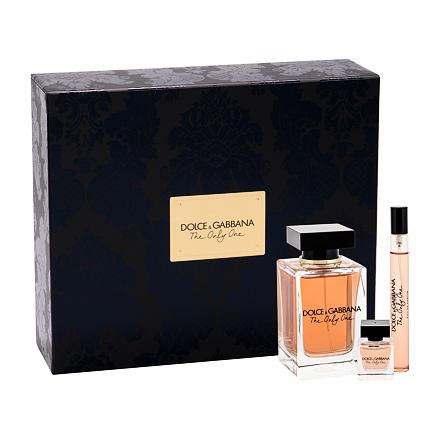 Dolce&Gabbana The Only One 100 ml sada parfémovaná voda 100 ml + parfémovaná voda 10 ml + parfémovaná voda 7,5 ml pro ženy