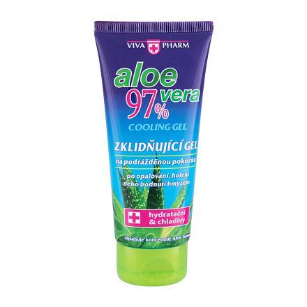 Vivaco VivaPharm Aloe Vera Cooling Gel zklidňující chladivý gel po opalování, holení a bodnutí hmyzem 100 ml unisex
