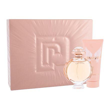Paco Rabanne Olympéa 80 ml sada parfémovaná voda 80 ml + tělové mléko 100 ml pro ženy