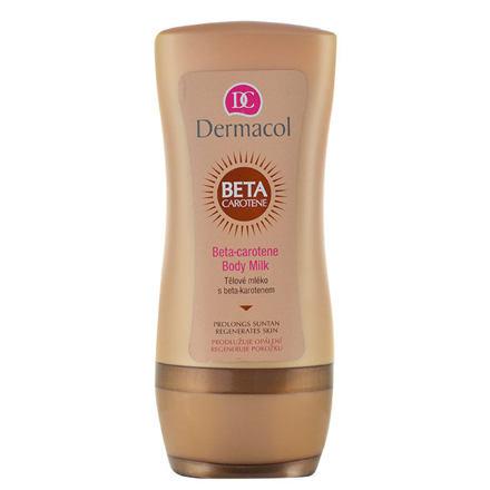 Dermacol After Sun Beta-Carotene Body Milk mléko po opalování s beta-karotenem 200 ml pro ženy