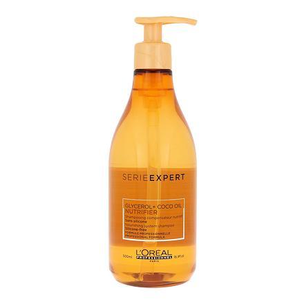 L´Oréal Professionnel Série Expert Nutrifier šampon pro suché a poškozené vlasy 500 ml pro ženy