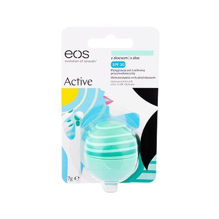 EOS Active ochranný balzám s aloe vera SPF30 7 g odstín Aloe pro ženy