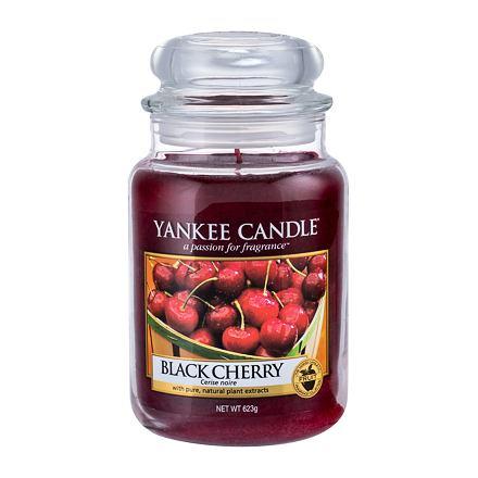Yankee Candle Black Cherry vonná svíčka 623 g
