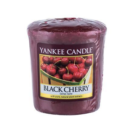 Yankee Candle Black Cherry vonná svíčka 49 g