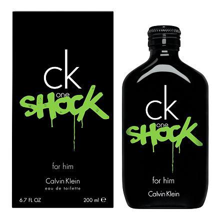 Calvin Klein CK One Shock toaletní voda 200 ml pro muže
