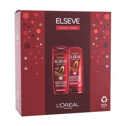 L´Oréal Paris Elseve Color-Vive 250 ml sada šampon Elseve Color Vive 250 ml + balzám na vlasy Elseve Color Vive 200 ml pro ženy