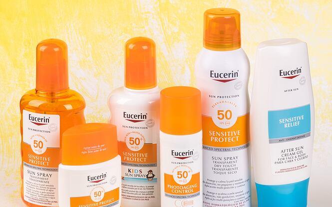 Opalovací kosmetika Eucerin Sun