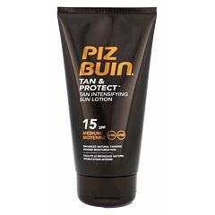 Opalovací přípravek na tělo PIZ BUIN Tan & Protect Tan Intensifying Sun Lotion SPF15 150 ml