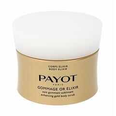 Tělový peeling PAYOT Corps Elixir Enhancing Gold Body Scrub 200 ml