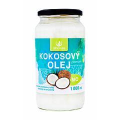 Přípravek pro zdraví Allnature Premium Bio Coconut Oil 1000 ml