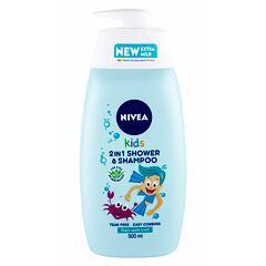 Sprchový gel Nivea Kids 2in1 Shower & Shampoo Magic Apple Scent 500 ml