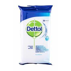 Antibakteriální přípravek Dettol Antibacterial Cleansing Surface Wipes Original 36 ks
