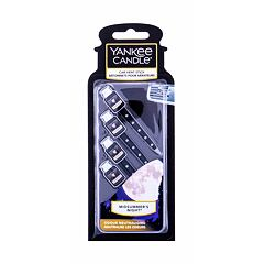 Vůně do auta Yankee Candle Midsummer´s Night Vent Stick 4 ks