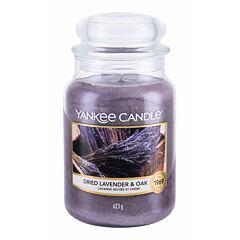 Vonná svíčka Yankee Candle Dried Lavender & Oak 623 g