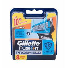 Náhradní břit Gillette Fusion Proshield Chill 8 ks
