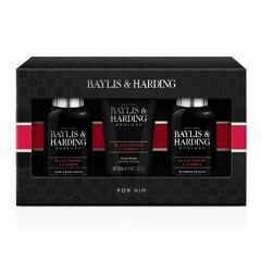 Sprchový gel Baylis & Harding For Him Black Pepper & Ginseng Collection 100 ml Kazeta